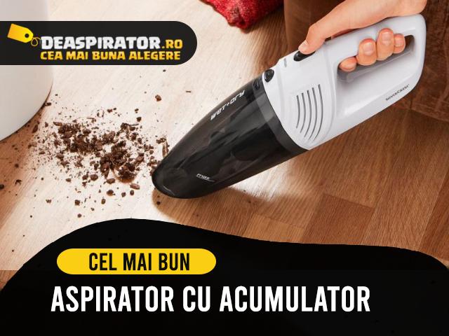 aspirator cu acumulator